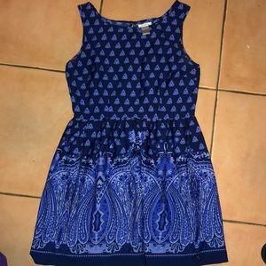 wmns mini blue dress size L